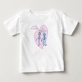 Flik and Princess Atta Holding Hands Disney Baby T-Shirt