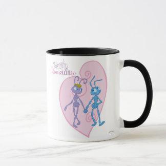 Flik and Princess Atta Holding Hands Disney Mug