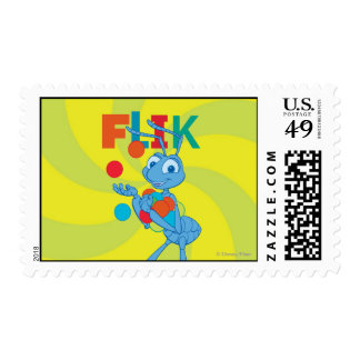 Flik - Colorful Postage Stamp