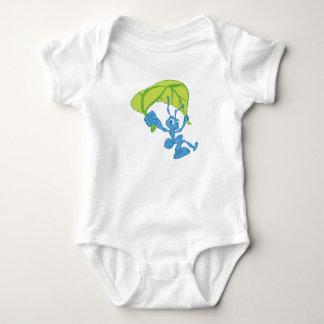 Flik de la vida de un insecto con el paracaídas body para bebé