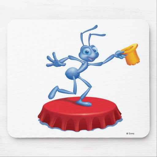 Flik Disney de ejecución de la vida de un insecto Alfombrillas De Ratón