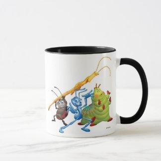 Flik , Heimlich, and Ladybug Disney Mug