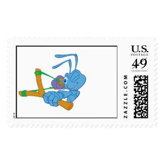 Flik with Sling Shot Disney Postage Stamp