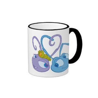Flik y princesa Atta Disney de la vida de un insec Tazas De Café