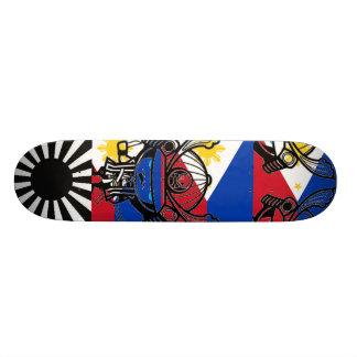 flilipino flag skateboard deck