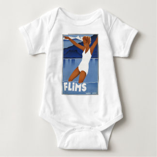 Flims Switzerland Baby Bodysuit