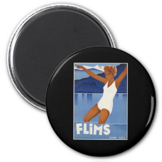 Flims Switzerland Magnet