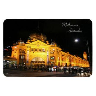 Flinders Station Melbourne Australia - Magnet