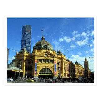 flinders street eureka postcard