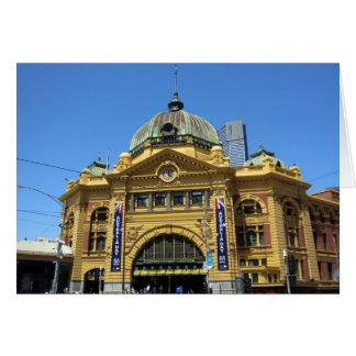 flinders street station card