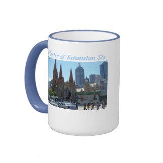 Flinders & Swanston Streets - Melbourne Mugs