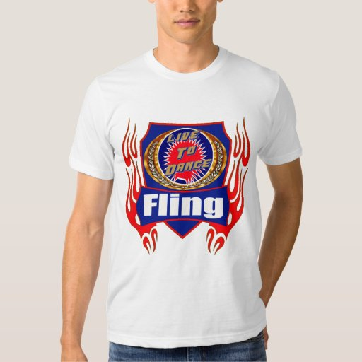 Fling Dance Wear T-shirts