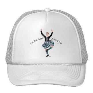 Fling de montaña escocés del bailarín gorras