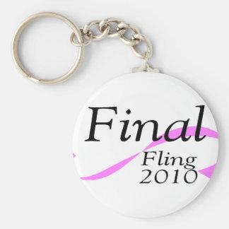 Fling final 2010 llavero redondo tipo pin