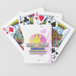 fling ring peace bachelorette wedding bridal bicycle poker cards