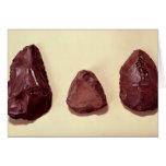 Flint axe heads cards