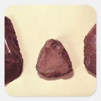Flint axe heads square sticker