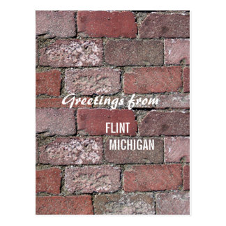 Flint Bricks Post Card