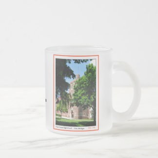 Flint Central High Frosted Glass Coffee Mug