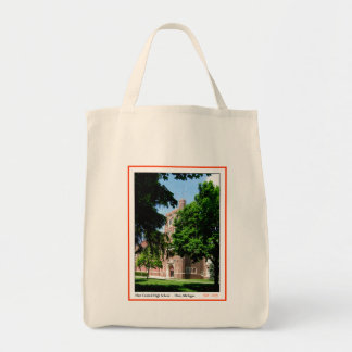 Flint Central High Organic Tote Canvas Bags