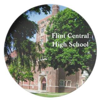 Flint Central High School Commemorative Plate