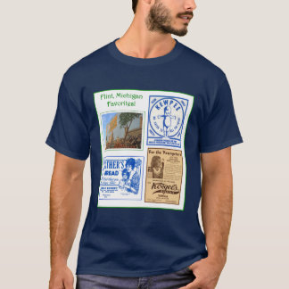 Flint Favorite Foods mens tee