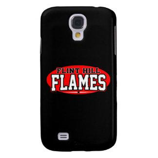Flint Hill Christian; Flames Galaxy S4 Cover