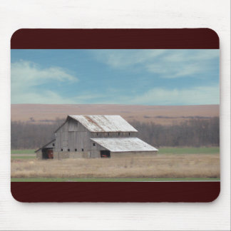 Flint Hills barn Mouse Pad
