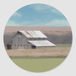 Flint Hills barn Sticker
