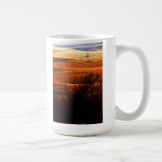 Flint Hills landscape mug