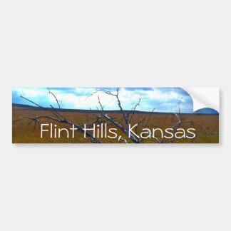 Flint Hills of Kansas bumper sticker