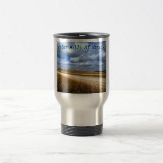 Flint Hills of Kansas travel mug