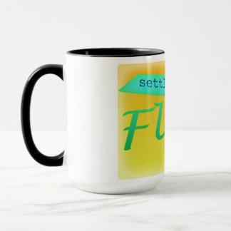 Flint mi settled in 1818 ringer mug