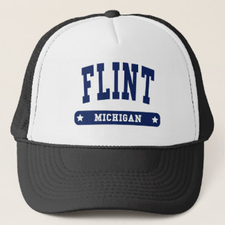 Flint Michigan College Style tee shirts Trucker Hat