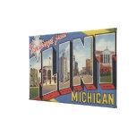 Flint, MichiganLarge Letter ScenesFlint, MI 2 Canvas Print