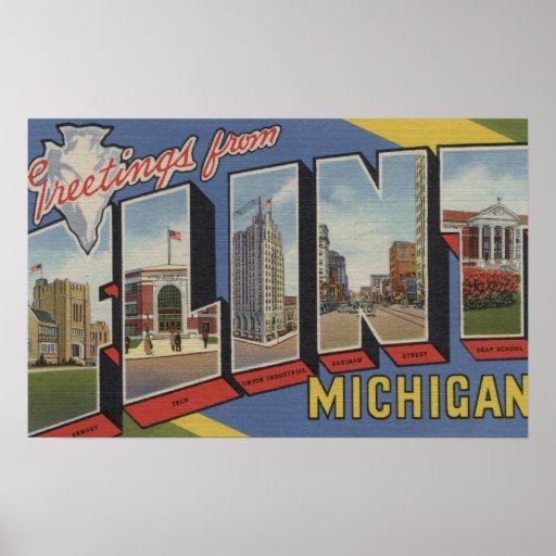 Flint, MichiganLarge Letter ScenesFlint, MI 2 Poster