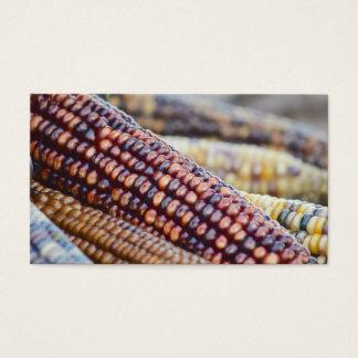 Flint Ornamental Corn Business Card