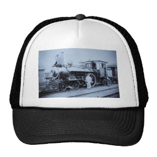 Flint & Pere Marquette Railroad Engine # 11 Trucker Hat