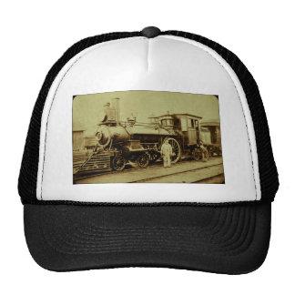 Flint & Pere Marquette Railroad Engine No. 11 Trucker Hat