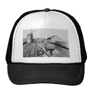 Flint & Pere Marquette Railroad Yard Trucker Hat