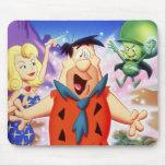 Flintstone de Fred bajo encanto Alfombrillas De Raton