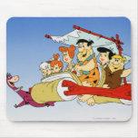 Flintstone Wilma Barney y Betty PEBBLES™ de Fred Alfombrillas De Ratón