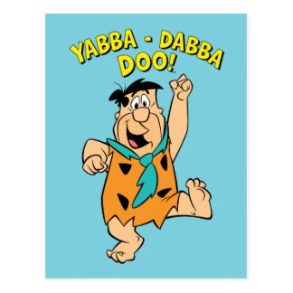 ¡Flintstone Yabba-Dabba Doo de Fred! Postales