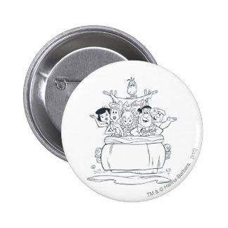 Flintstones Families1 Button
