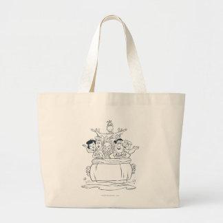Flintstones Families1 Jumbo Tote Bag