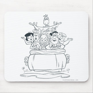 Flintstones Families1 Mouse Pad