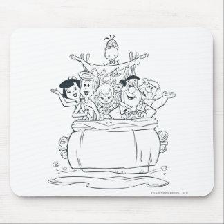 Flintstones Families1 Mousepads