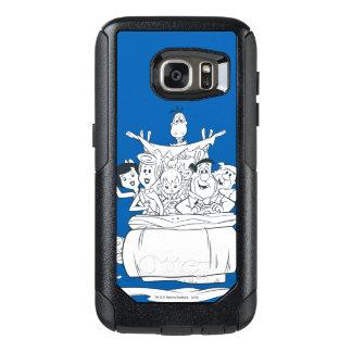 Flintstones Families1 OtterBox Samsung Galaxy S7 Case