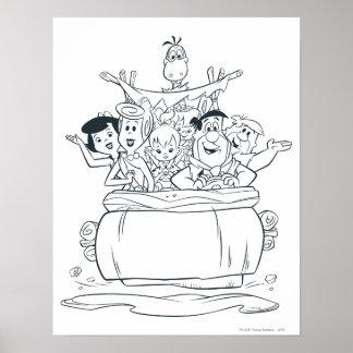 Flintstones Families1 Poster