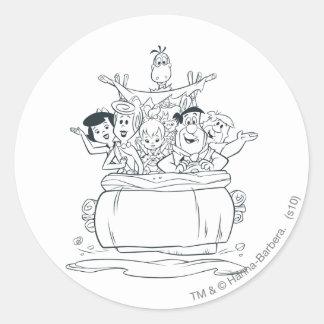 Flintstones Families1 Stickers